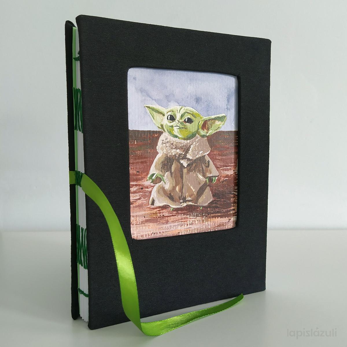 Encuadernación Baby Yoda