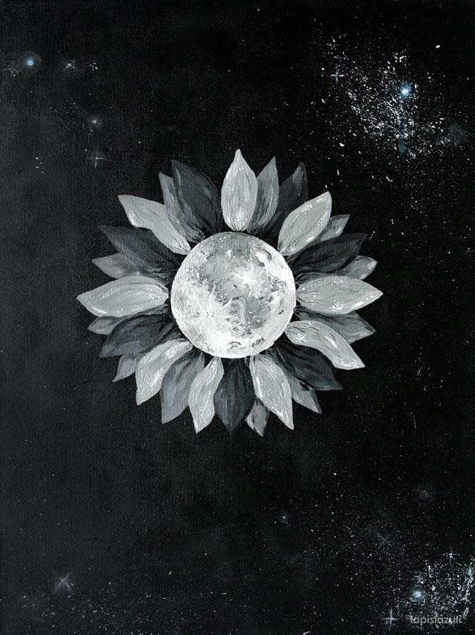Pintura Moonflower
