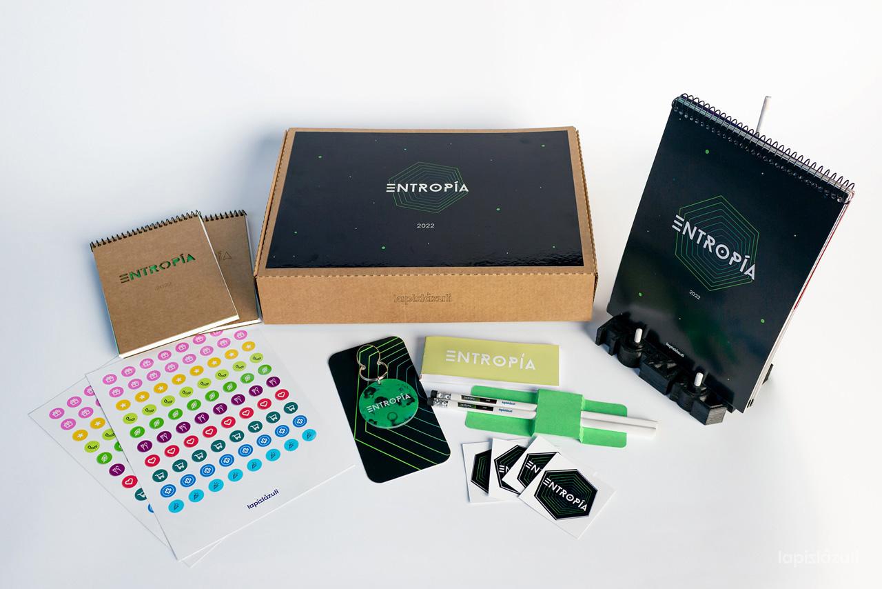Diseño y elaboración de prototipo – pack ENTROPÍA 2022