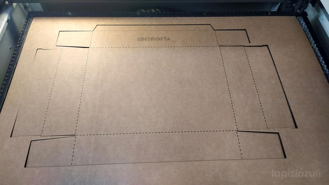 corte de cartón por láser